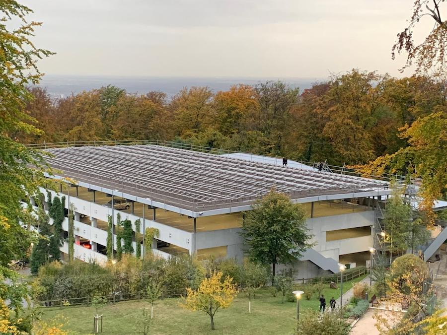 Referenzobjekt EMBL Parkhaus Heidelberg
