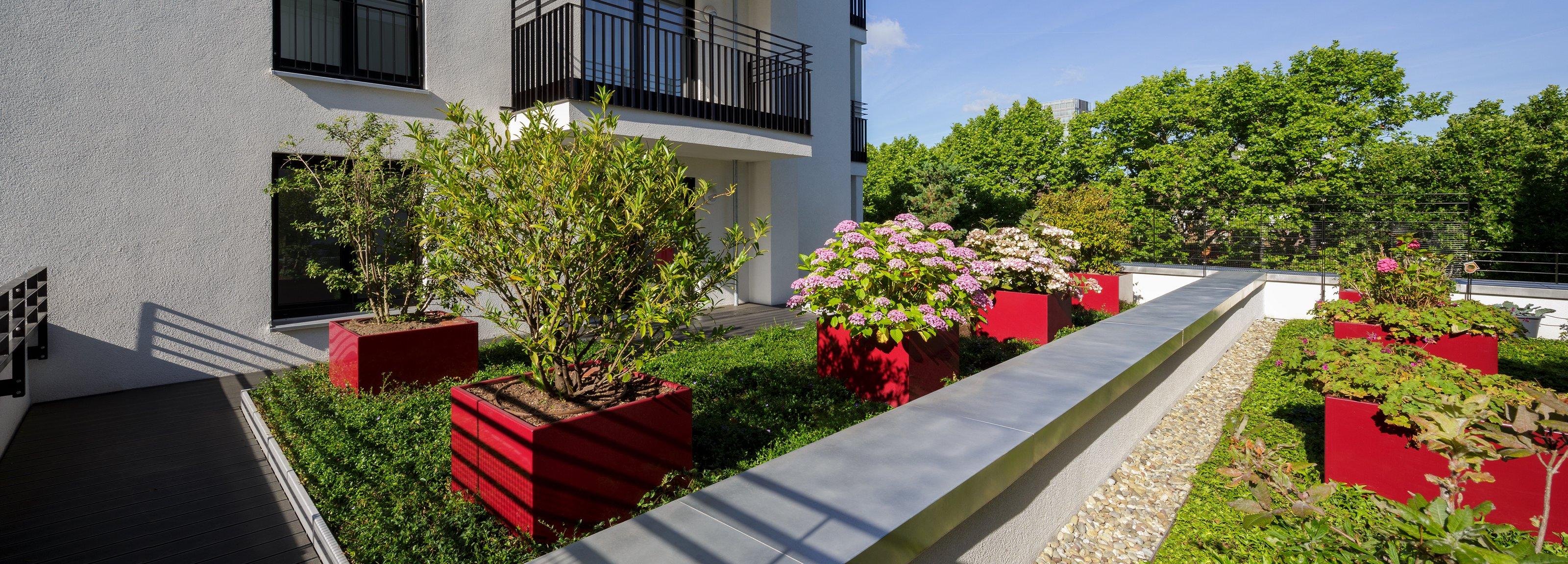 Dachgarten in der Stadt – Mit der Kompetenz von Optigrün