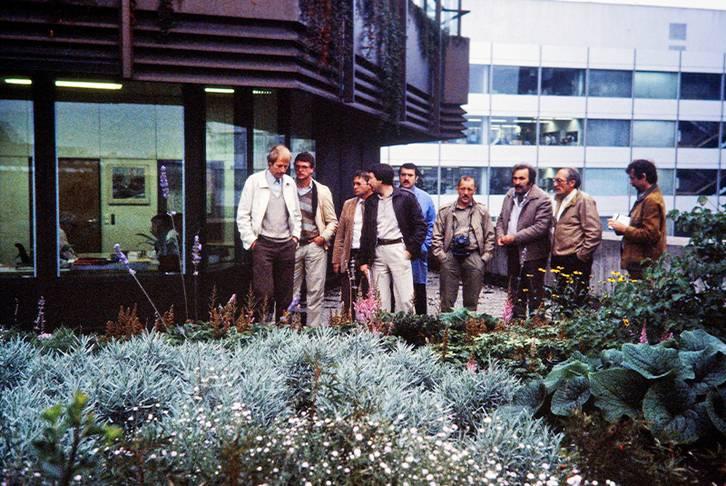 Exkursion mit Planern, 1977