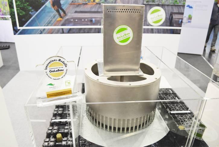 Innovationspreis für OPTIGRÜN Smart Flow Control, Nürnberg 2016